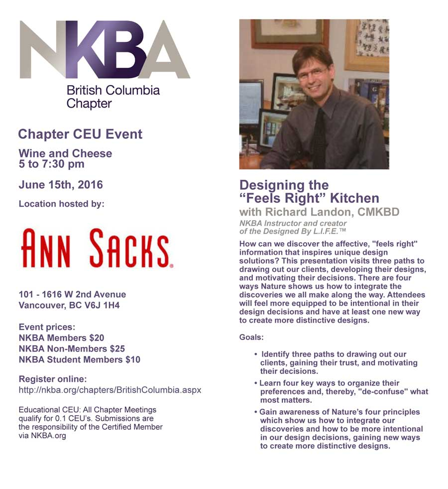 British Columbia Chapter Event
