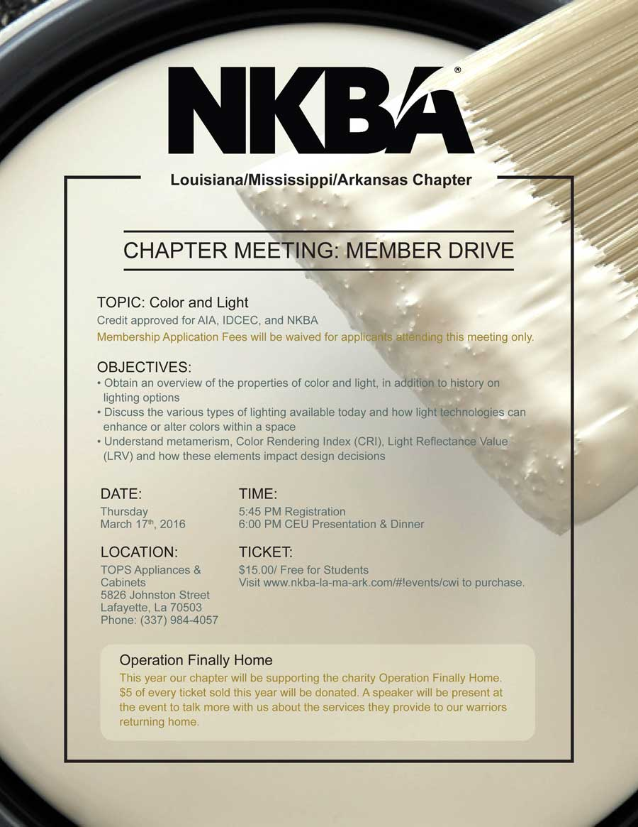 LA/MS/AR Chapter Event