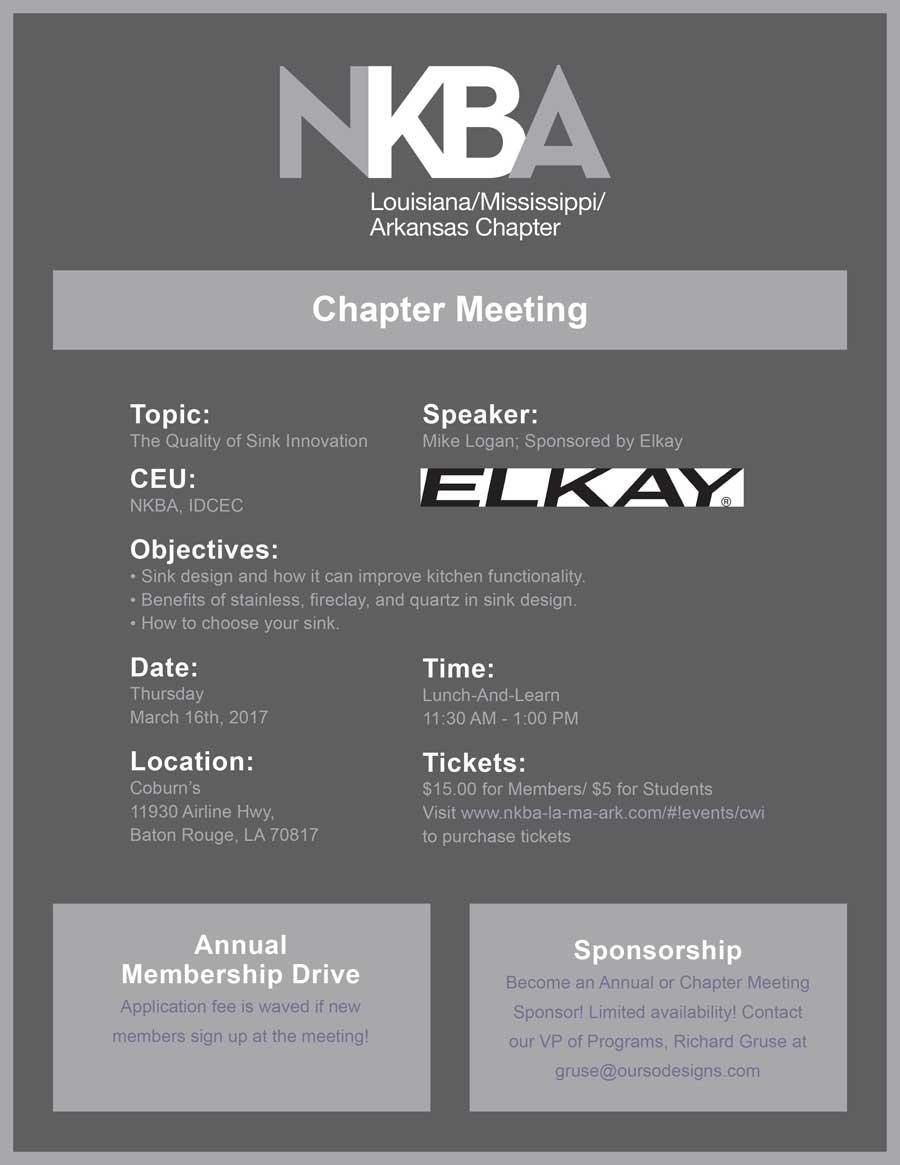 LA/MS/AR Chapter Event