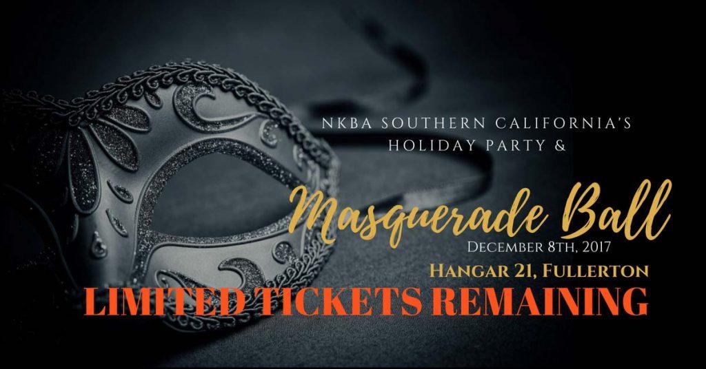 NKBA Southern California Holiday Party & Masquerade Ball 2017