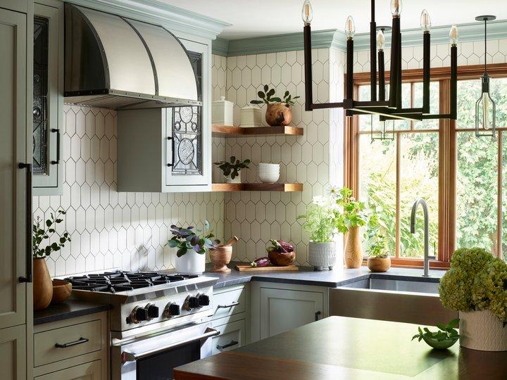 BlueStar kitchen in the 2020 NKBA Design Competition